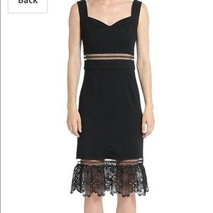 Romeo and Juliet Couture lace cutout dress